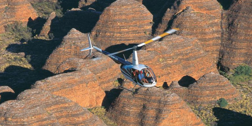 Bungle Bungle helicopter flight