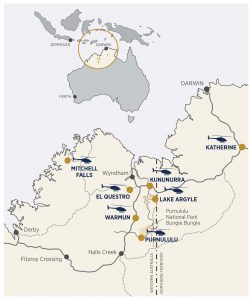 HeliSpirit Business locations, Australia.