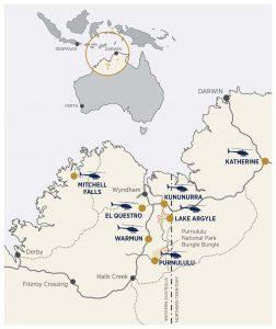 HeliSpirit Business locations, Australia.