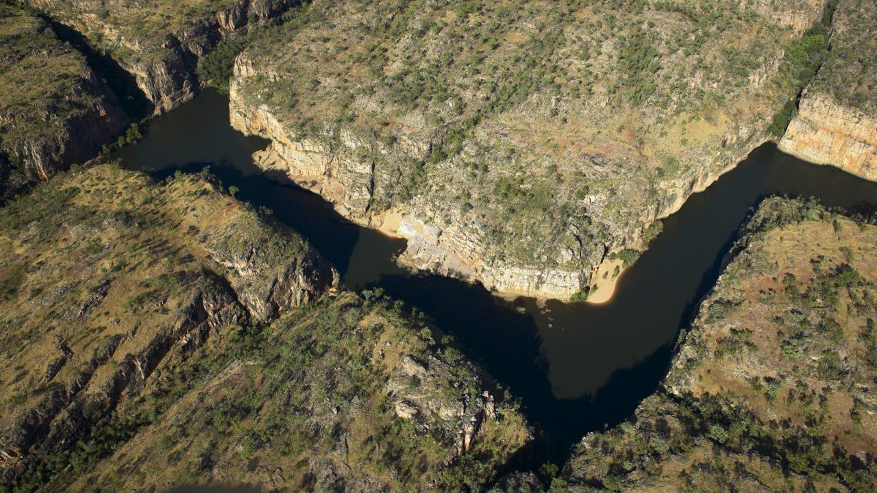 Aerial Katherine Gorge 4