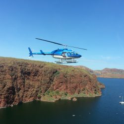 Lake Argyle near the pontoon