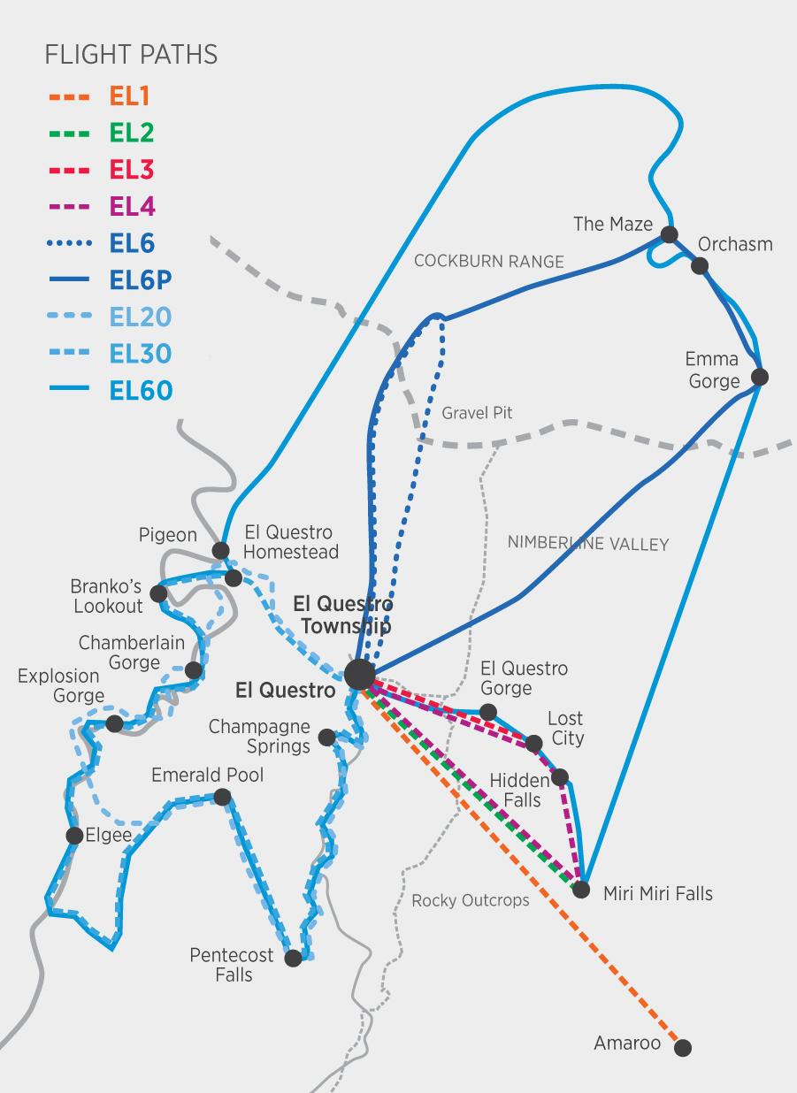 HeliSpirit El Questro 2017_Map