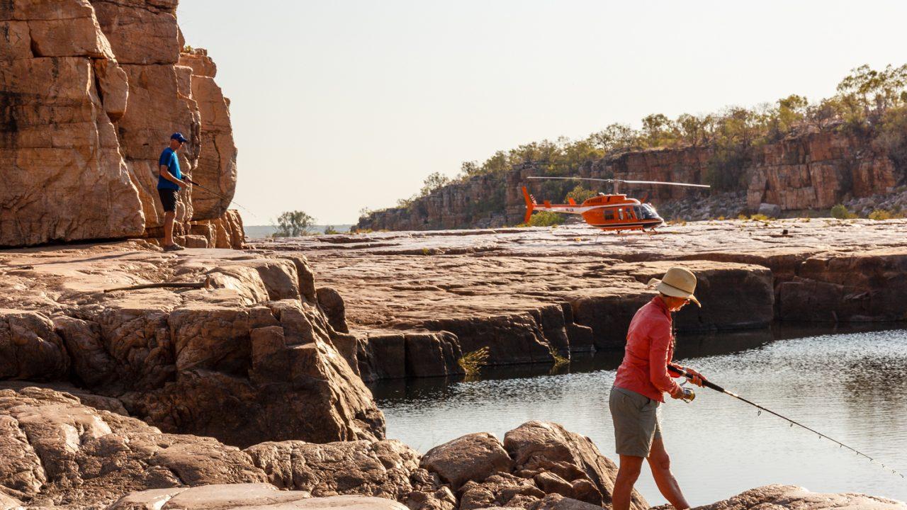 Kimberley helifishing adventures kimberley fishing charters for Berkeley fishing charter