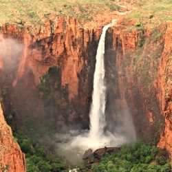 Revolver Falls in the Wet season