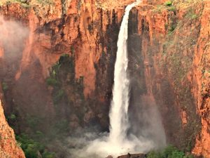 Waterfalls galore on this Kimberley helicopter flight