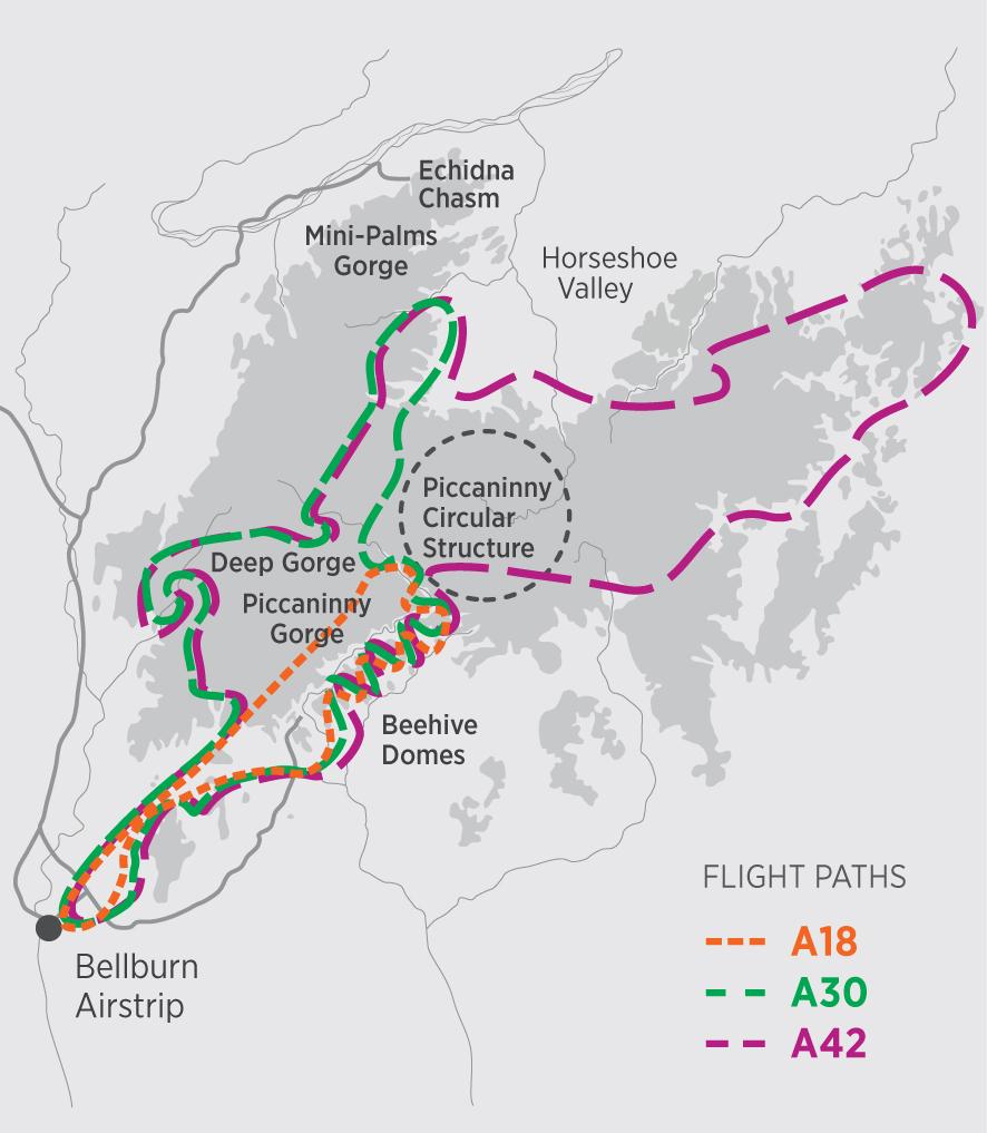 HeliSpirit Bungle Bungle Purnululu Map