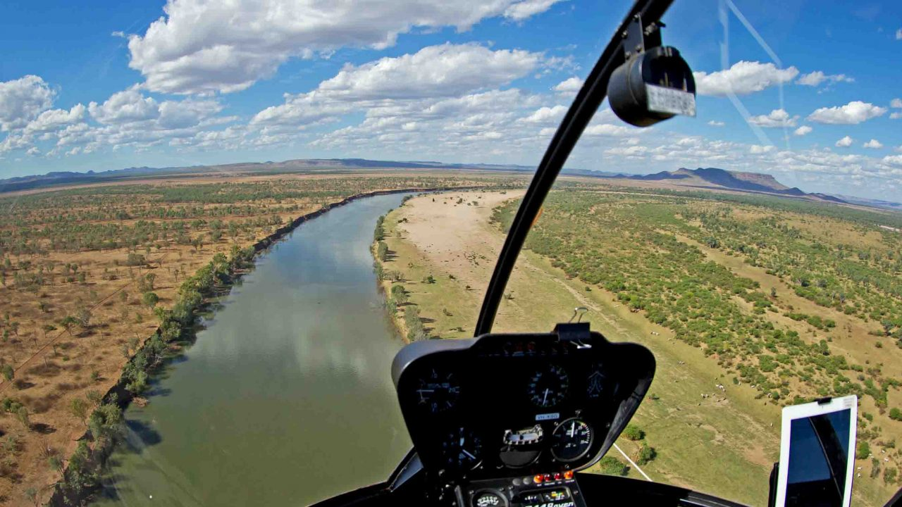 The lower ORD River