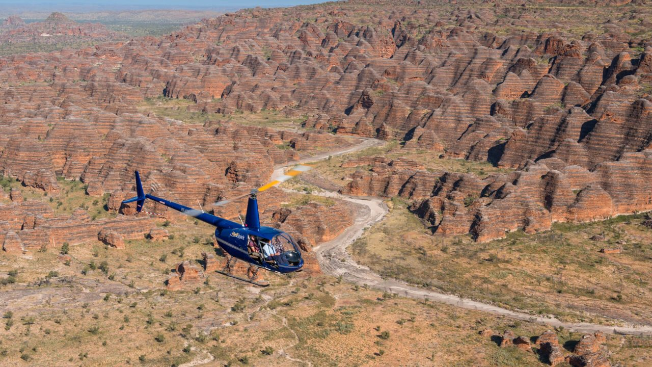 Bungles Bungle Helicopter flights with HeliSpirit