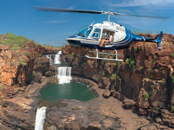 $145 – Mitchell Falls Helicopter Transfer Flight
