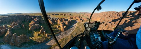 HeliSpirit Bungle Bungle helicopter flight