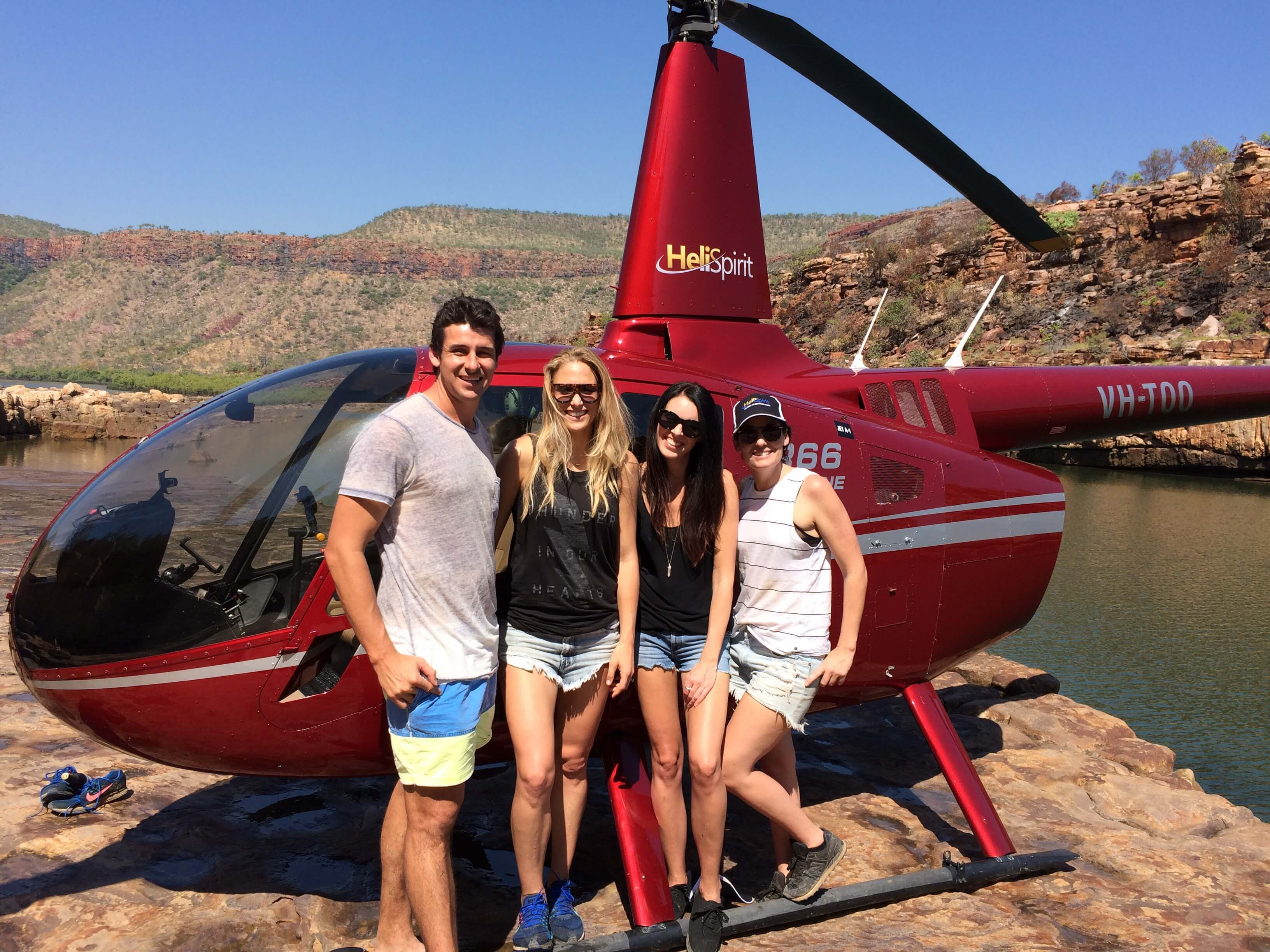 Helifishing with Rayne and Andrew Embley