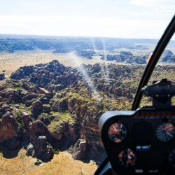 Bungle Bungle domes by helicopter