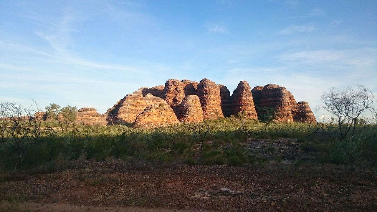 Sandstone domes of Purnululu