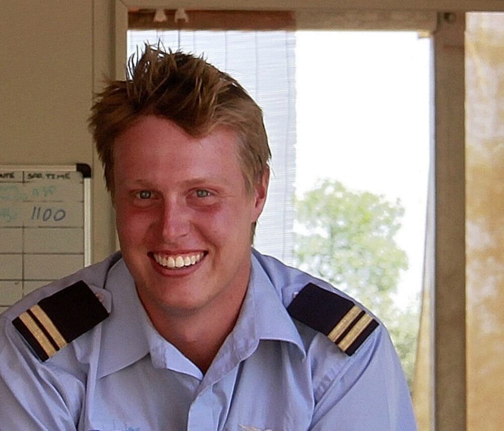 Hamish MacDougal HeliSpirit pilot