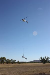 HeliSpirit lifting a plane 1