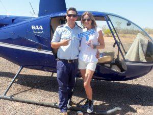 Steve Brown.  HeliSpirit pilot Q and A
