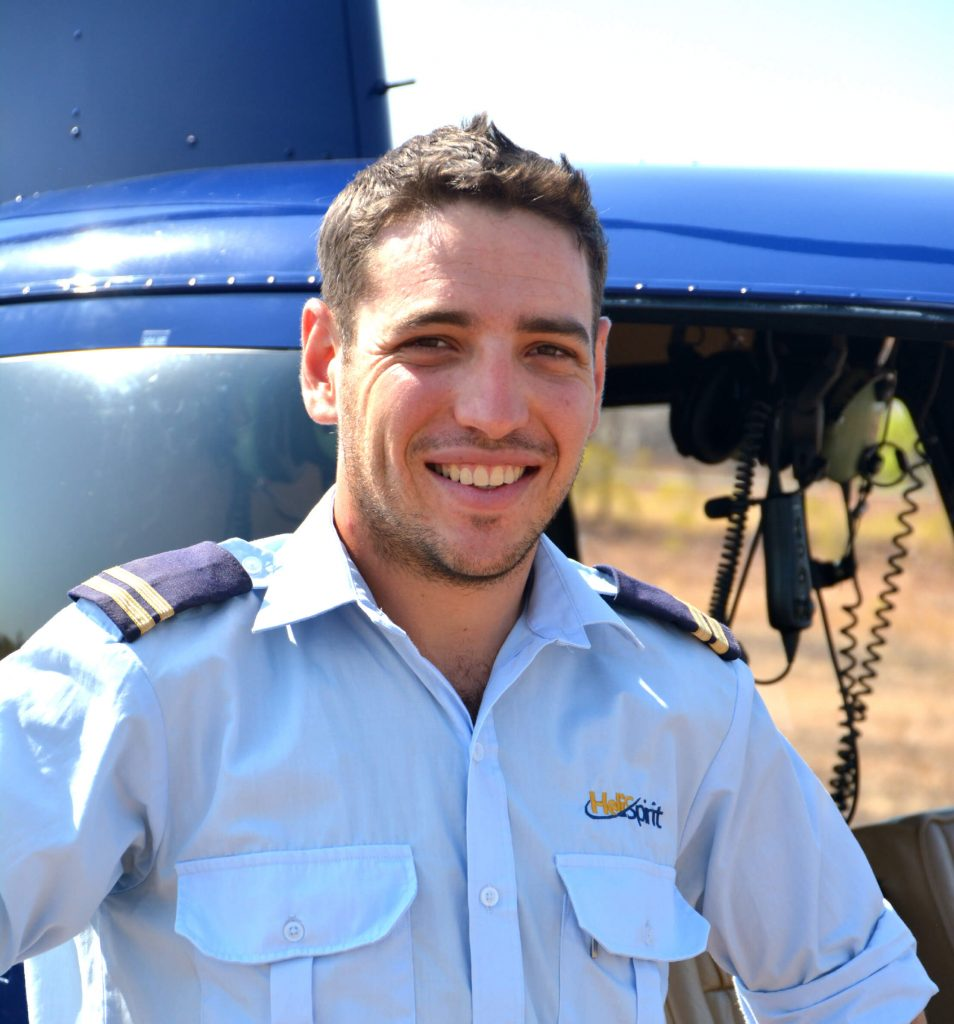 Steve Brown, HeliSpirit pilot