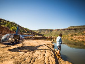 Kimberley helifishing adventure package