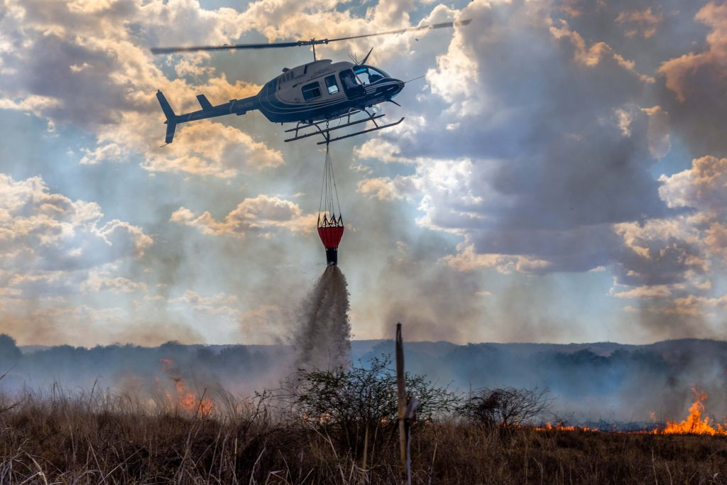 HeliSpirit fire fighting