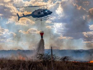 Helicopter fire fighting
