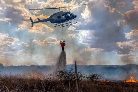 HeliSpirit fire fighting