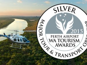 HeliSpirit wins Major Tour and Transport Operator silver award