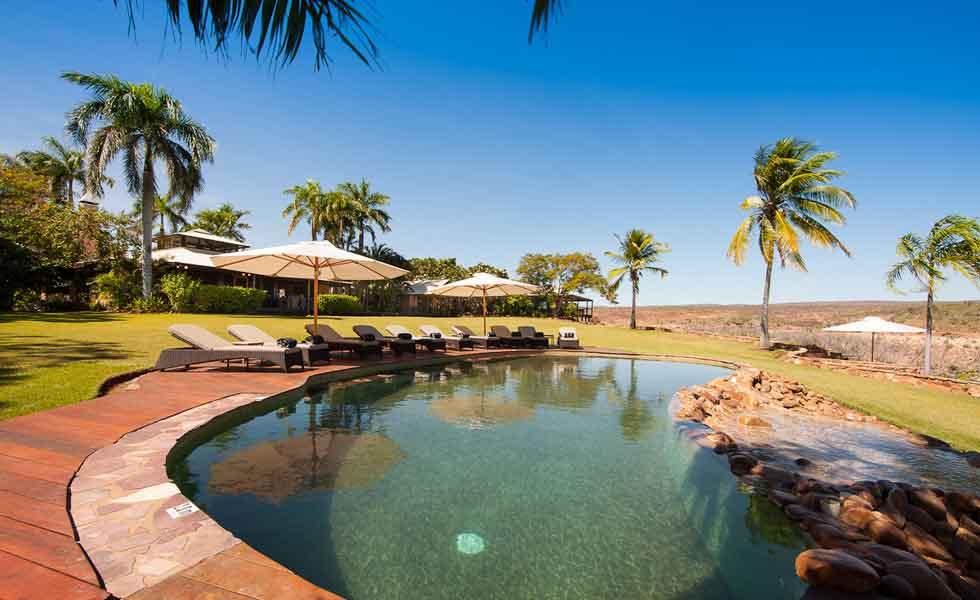 El Questro Homestead pool