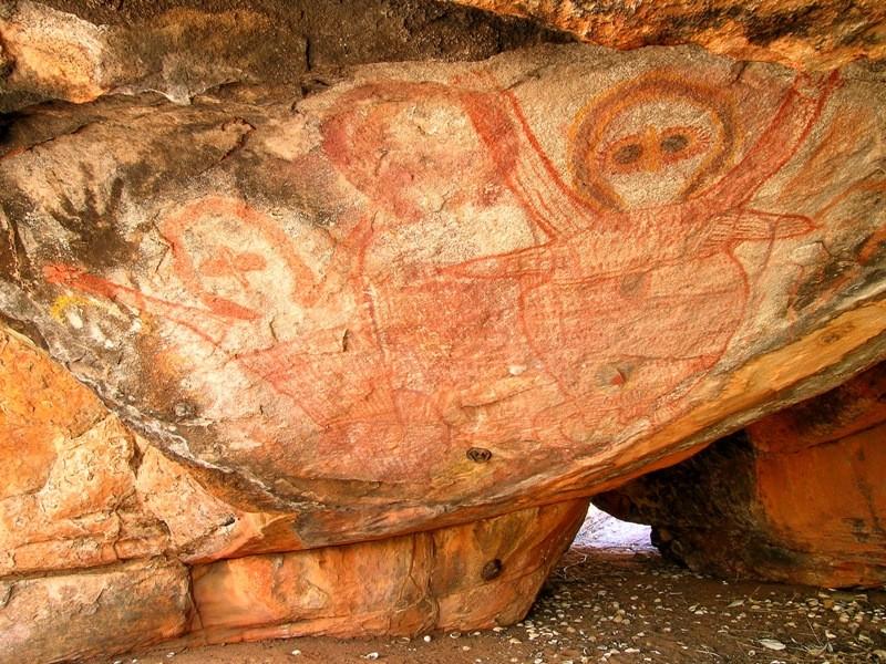 Kimberley Coastal Camp Rock Art 2