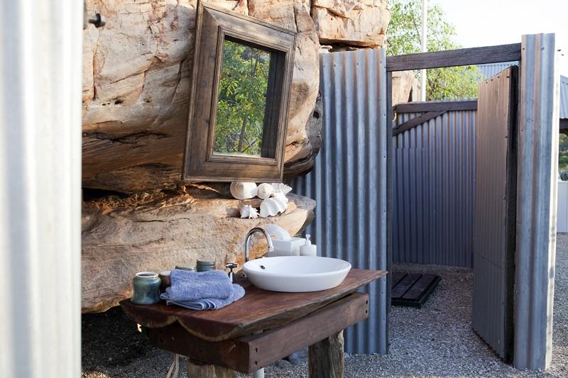 Kimberley Coastal Camp bathroom