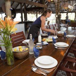 Kimberley Coastal Camp breakfast