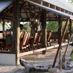 Kimberley Coastal Camp dining 2