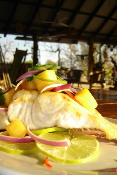 Kimberley Coastal Camp dining 1