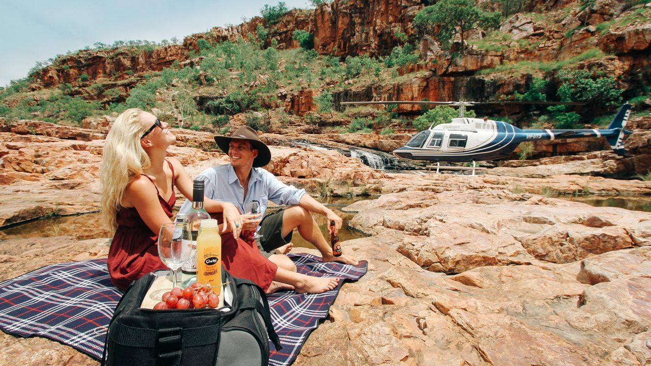 HeliSpirit Heli picnic