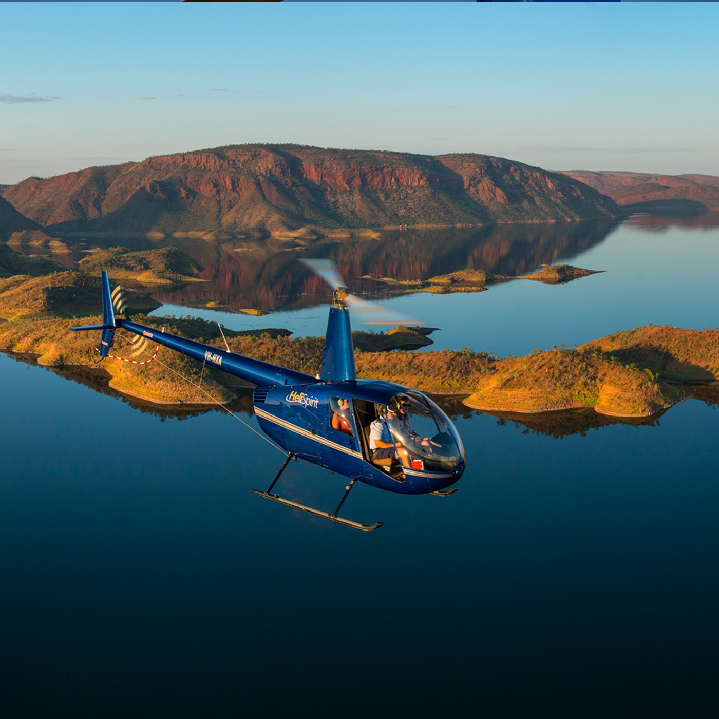 Helicopter Charter Services and Flights Australia | HeliSpirit